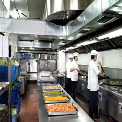 江门饭堂承包厨房容易出现的危险情况